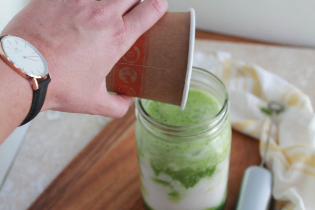 iced matcha latte recipe