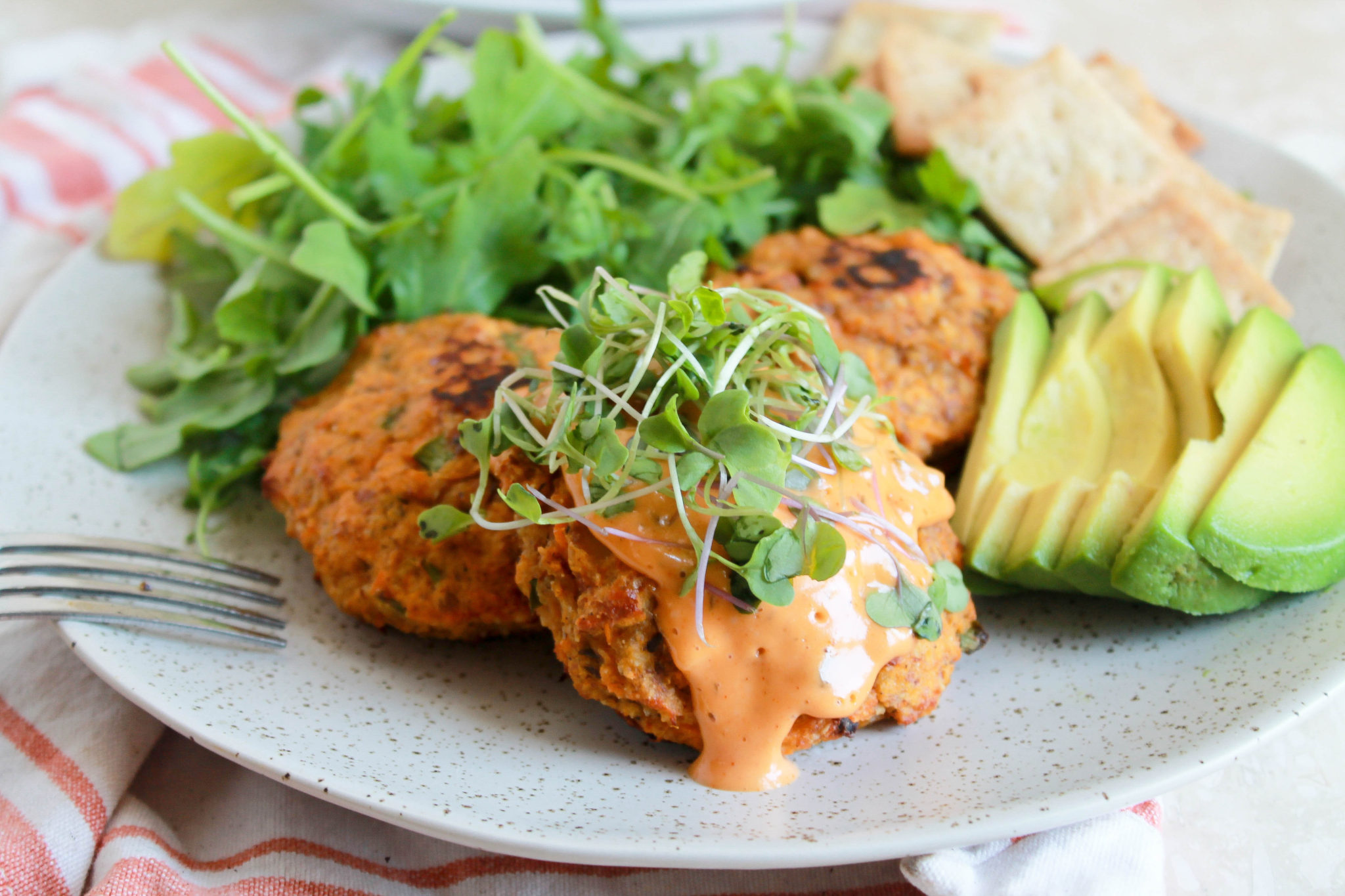 Paleo Sweet Potato Salmon Patties (Whole 30 Compliant)