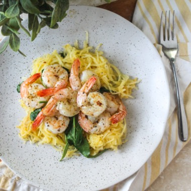 Paleo Shrimp Scampi (Whole 30)