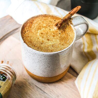 paleo golden milk latte